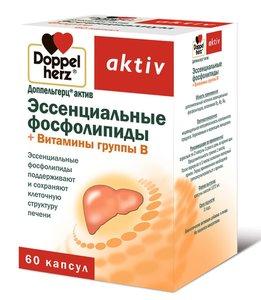 Доппельгерц Актив Эссенциальные фосфолипиды+Вит. группы В капс. №60
