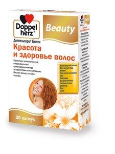Доппельгерц Бьюти Красота и здоровье волос таб. №30