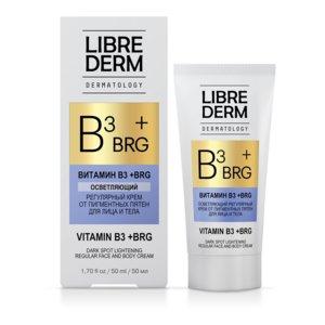 Либридерм Дерматолоджи BRG+витаминВ3 Крем осветляющий регулярный от пигмент. пятен 50мл