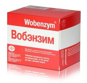 Вобэнзим таб. п.о №200
