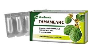 Гамамелис супп. рект. №10