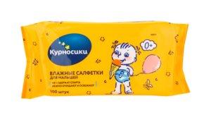 Курносики Салфетки влажные д/малышей №100 (40017)