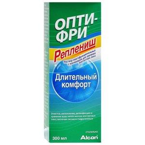 Р-р д/ухода за контактными линзами Опти фри реплениш 300мл
