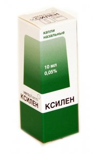 Ксилен капли наз. 0,05% 10мл