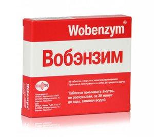Вобэнзим таб. п.о №40