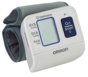 Тонометр автомат Омрон R1 6114 на запястье