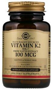 Солгар Витамин К2(Менахинон 7) 100мкг капс. №50