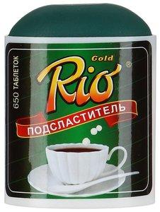 Заменитель сахара Рио Голд таб. №650