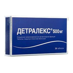 Детралекс таб. п/о 500мг №30