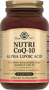 Солгар Нутрикоэнзим Q-10 с Альфа-липоевой кислотой капс. №60