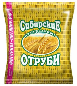 Отруби Сибирские Пшеничные (натуральные) 200г