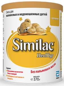 Симилак Зам. грудного молока д/недоношен Неошур 370г