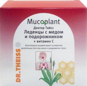Леденцы Доктор Тайсс Подорожник/Мед/ВитаминС 50г