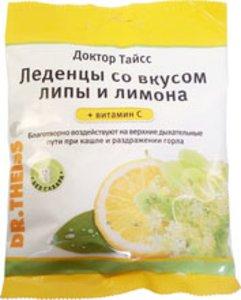 Леденцы Доктор Тайсс Липа/Лимон/ВитаминС 50г