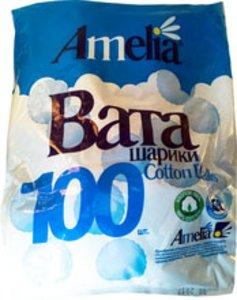 Амелия ватные шарики 70г №100