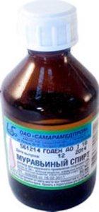 Муравьиный спирт р-р наруж. 1.4% 50мл