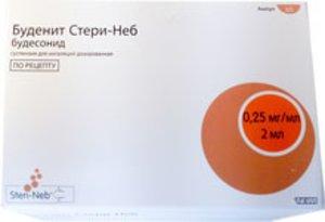 Буденит Стери-Неб сусп. 0,25мг/мл 2мл №60
