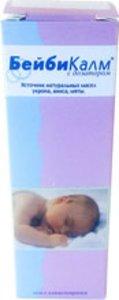 Бейби Калм натур капли внутр. д/младенцев при метеоризме 15мл
