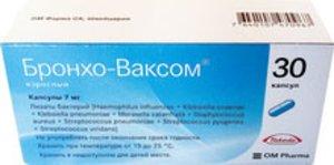 Бронхо-ваксом взрослый капс. 7мг №30