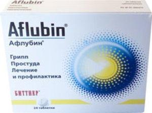 Афлубин таб. гомеопат. №24