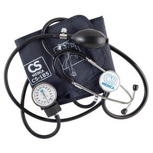 Тонометр механический CS Medica CS-105 с грушей и встроенным фонендоскопом