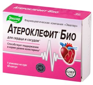 Атероклефит Био капс. №60