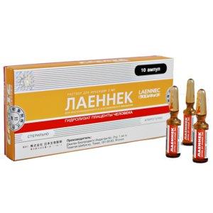 Лаеннек р-р д/ин. амп.2мл №10
