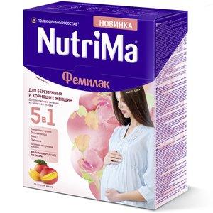 Фемилак Нутрима смесь д/беременных и кормящих Манго 350г