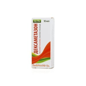 Дексаметазон капли гл. 0.1% 10мл
