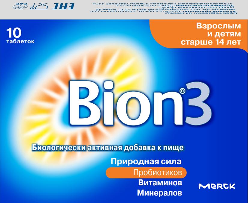 Бион 3 таб. 1.05г №10