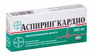 Аспирин Кардио таб. п/о 300мг №20