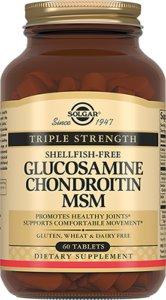 Солгар (ГХК) Глюкозамин/Хондроитин МСМ таб. №60