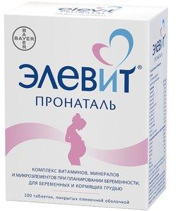 Элевит Пронаталь таб. п/о №100