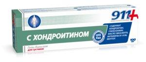 911 Хондроитин гель-бальзам д/суставов 100г