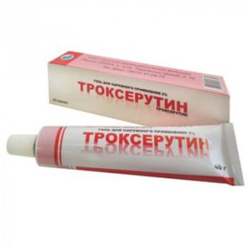 Троксерутин гель 2% 40г