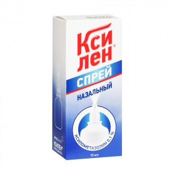 Ксилен спрей наз. 0,1% 15мл