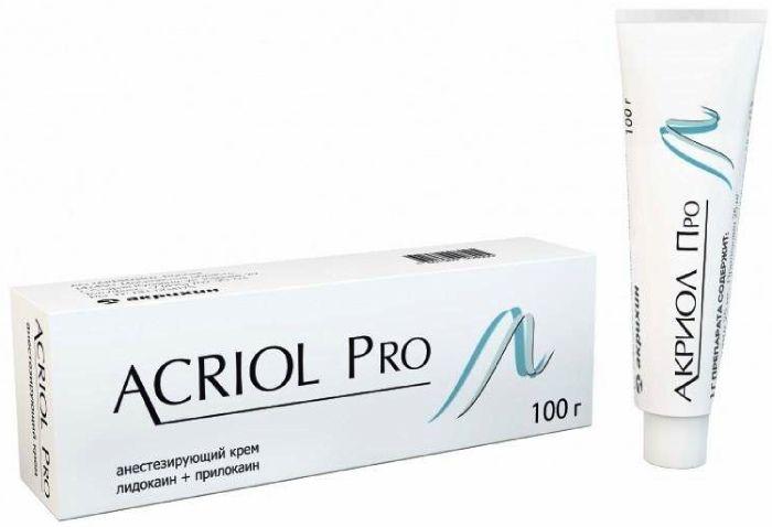 Акриол Про крем 2,5%+2,5% 100г