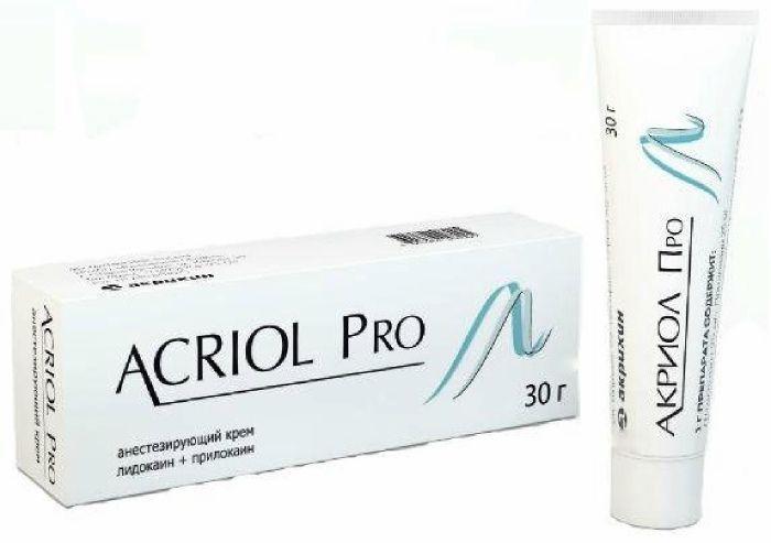 Акриол Про крем 2,5%+2,5% 30г
