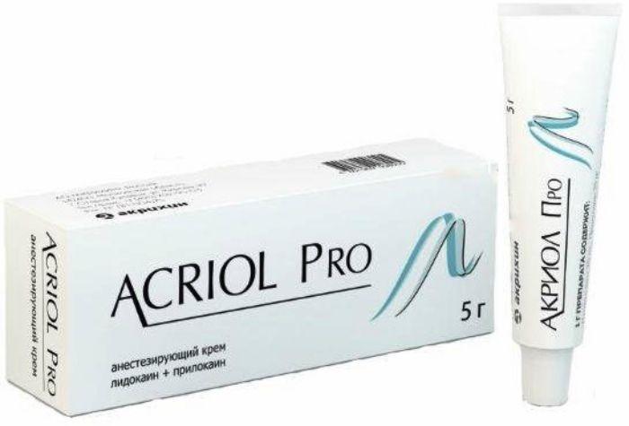 Акриол Про крем 2,5%+2,5% 5г