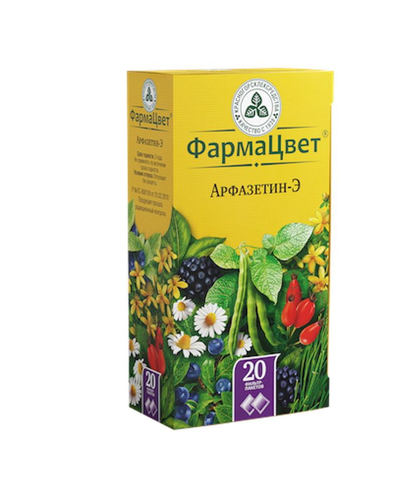 Арфазетин-Э сбор ф/п 2г №20