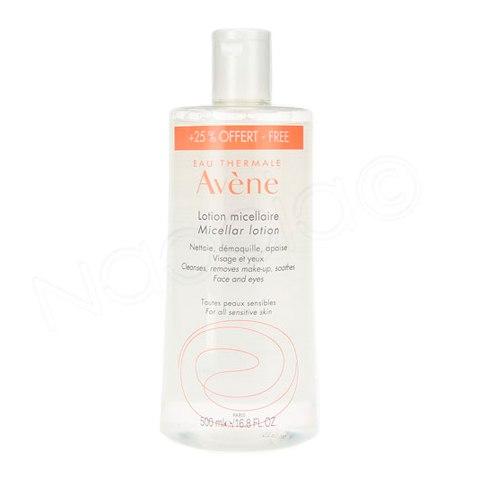 Авен Мицеллярный лосьон д/очищения кожи и удаления макияжа 500мл