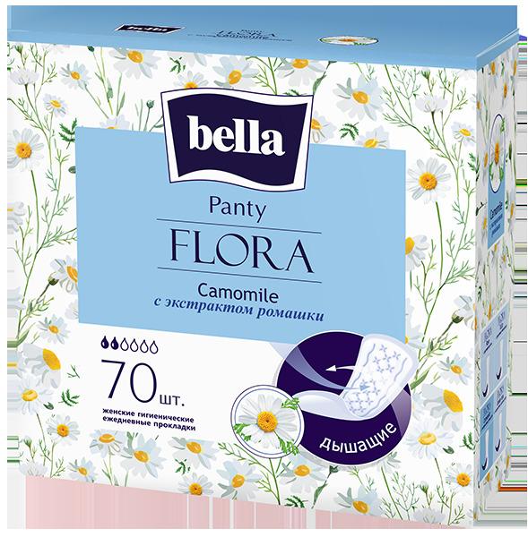 Белла Панти Флора прокладки ежедн. ромашка №70