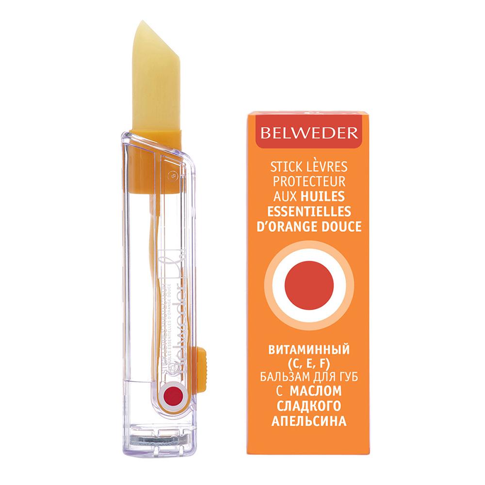 Бельведер бальзам д/губ витаминный с маслом сладкого апельсина/вит С 4г