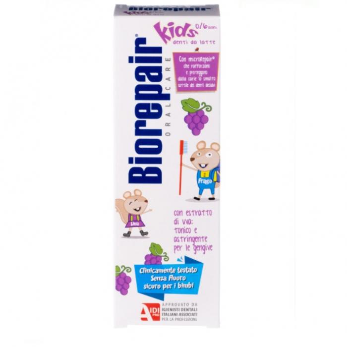 Биорепейр кидс з/паста детская 0-6 лет виноград 50мл