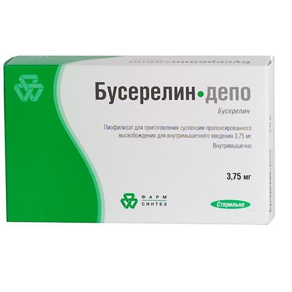 Бусерелин-Депо лиоф. д/сусп в/м 3.75мг