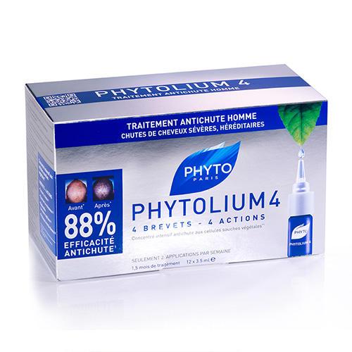 Фитосольба Фитолиум 4 сыворотка против выпадения волос ампулы 3.5мл №12