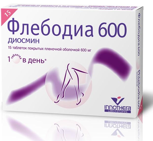 Флебодиа 600 таб. п/о №15
