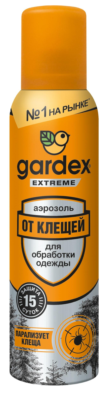 Гардекс Экстрим Аэрозоль от клещей 150мл