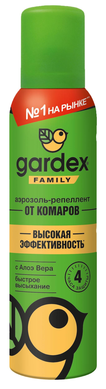 Гардекс Фэмили Аэрозоль от комаров 150мл