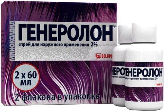 Генеролон р-р наруж. 2% 60мл №2